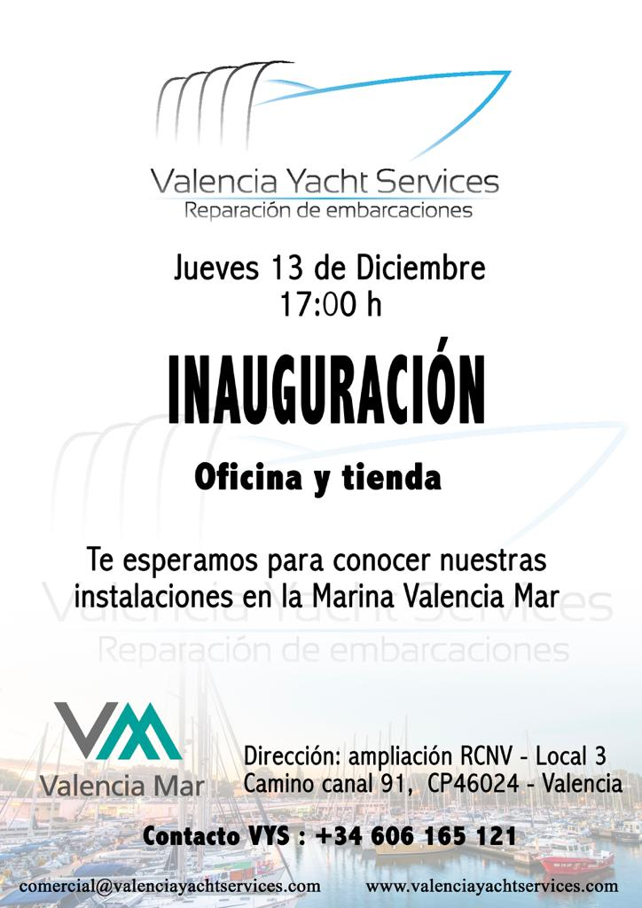 Opening Valencia Yacht Services! 0