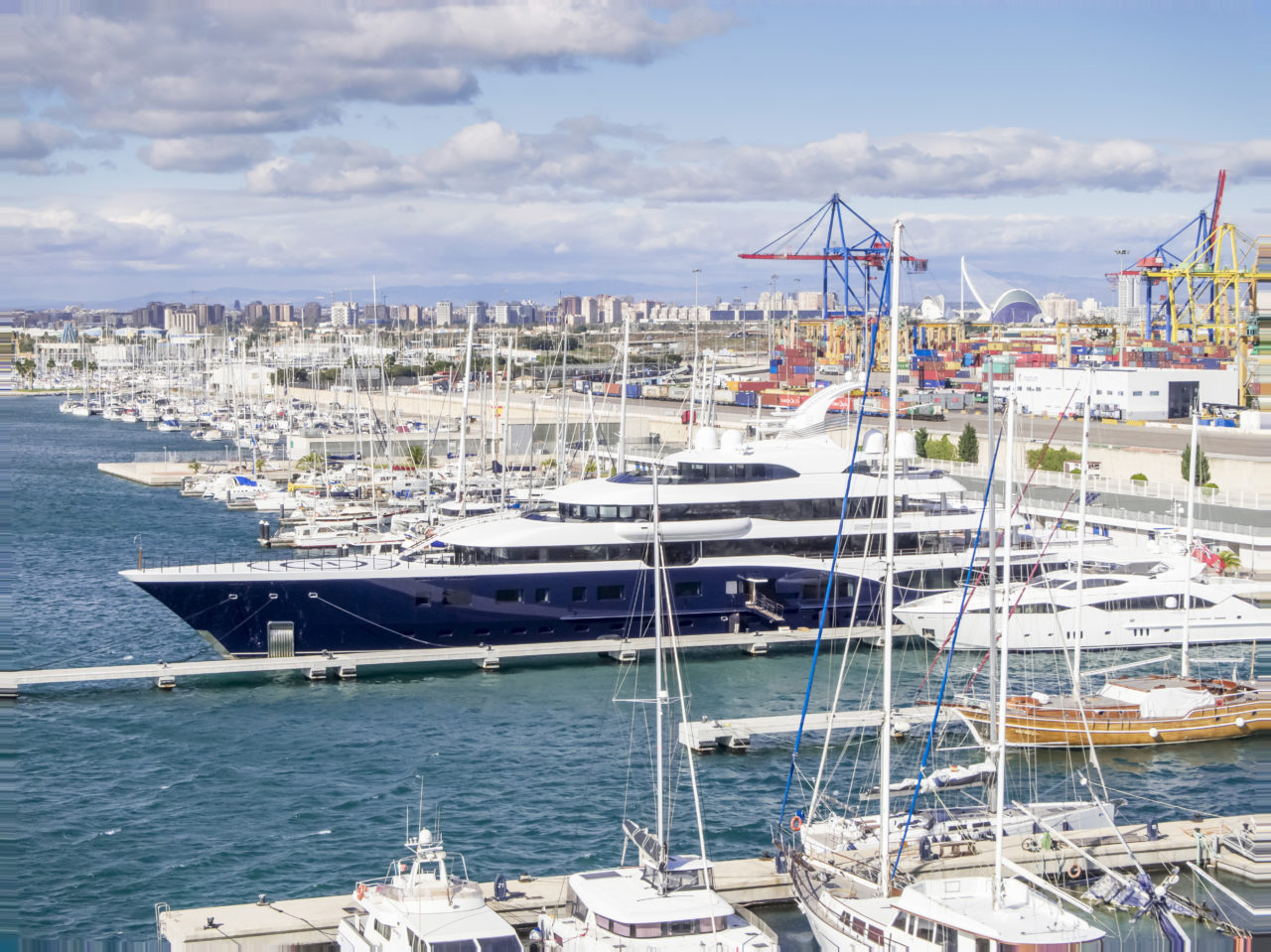 Valencia Mar – Superyacht Marina Spain 2